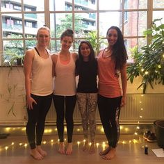 Amazing evening yesterday @yogasupperclub Great company tasty food and a brilliant yoga session - thanks Kelly! Feeling very grateful to have met these wonderful girls through the #bbgcommunity  by nafeezah_p