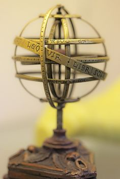 Whipple Musuem: Ptolemaic armillary sphere