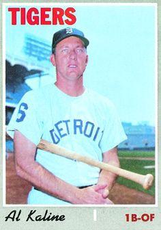 Al Kaline 1970 First Base - Detroit Tigers Card Number: 640