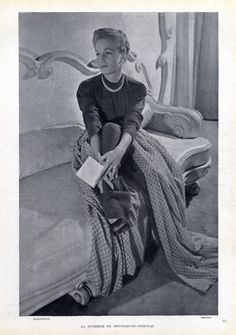 Cristóbal Balenciaga 1946 Duchesse de Montesquiou-Fezensac, Photo Harry Meerson