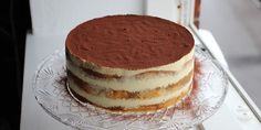 Tiramisu-lagkage – opskrift med lagkagebunde Sweet Recipes, Cake Recipes, Dessert Recipes, Cake Cookies, Cupcake Cakes, Danish Food, Kaffe, Piece Of Cakes, Party Cakes