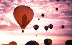 Hot air balloons<3