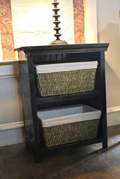 End Table @ Shanty 2 CHIC.... I'm totally making this soon!