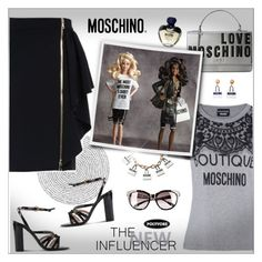 """""""MOSCHINO!!"""" by alves-nogueira ❤ liked on Polyvore featuring Moschino"""