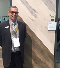 Mannington's Dan Natkin talking trends with Floor Covering Weekly.  #TISE2017