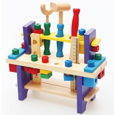 Aliexpress.com : Buy Wooden multifunctional working table tools set table wooden toy Model Building Kits from Reliable intelligent toy suppliers on Powsun Toys Co.,Ltd. $8.90