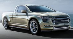 2016 Ford Ranchero concept