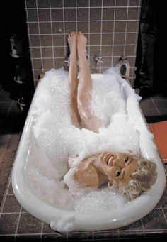 The deleted Marilyn Monroe bathtub scene from 'The Seven Year Itch'. ~ Sept 1-Nov 4, 1954