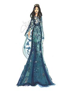 Ideas Fashion Ilustration Gown Drawing Elie Saab - Image 9 of 25 Fashion Illustration Sketches, Illustration Mode, Fashion Sketches, Fashion Prints, Fashion Art, Fashion Beauty, Fashion Outfits, Elie Saab, Gown Drawing