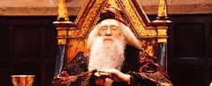 """Pin for Later: 29 Dumbledore Quotes That Will Inspire You to Do Magical Things  """"It matters not what someone is born, but what they grow to be."""" — Harry Potter and the Goblet of Fire"""