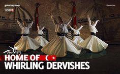 #Turkije Home of….DERVISHES #Konya is het spirituele centrum van Turkije. Filosoof en dichter Rumi en andere soefi's uit Konya hebben grote invloed uitgeoefend op de Turkse cultuur. Vooral bekend zijn de dansende #Derwisjen. #Cultuur