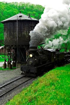 Cass Scenic Railroad State Park in West Virginia. I liked this because of the water tower. ctsuddeth.com