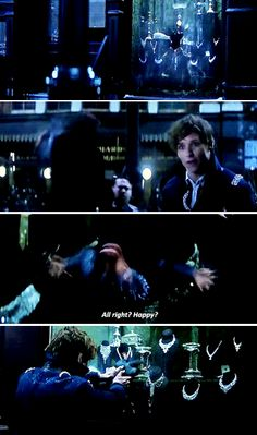 Fantastic Beasts and Where to Find Them → The best way to catch the Niffler use sticky jelly window.