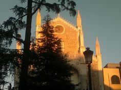 Atardecer en los Jeronimos, Madrid. España. De Lna
