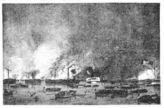 Depiction of Fairfield, CT and the fires that Lord William Tryon set during the American Revolutionary War 1777. Ironically, a Daniel Tryon of Fairfield, CT married an Ellenor Vaughan sister to Josephus Vaughan, my 6th Great-Grandfather. The fires he set caused my Vaughans and Tryons to migrate to Noyan, Quebec. Nice guy, eh? And were these Tryons related?