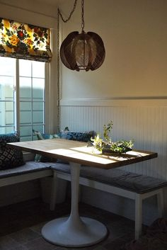 When I first moved into my apartment  I knew this little corner would be  the perfect nook for lazy weekend breakfasts  I came up with this Ikea hack  because  Ingo Dining Table   Glass Dining Table   Pinterest   Ikea dining  . Dining Table Ikea Hack. Home Design Ideas
