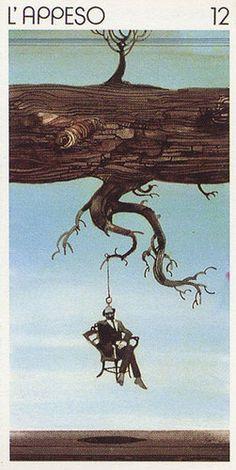 The Hanged Man - Tarocchi Universali di Sergio Toppi
