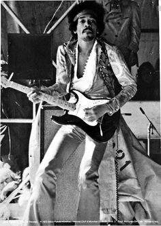 Jimi Hendrix (Seattle 1942, Londres 1970) (USA) Musicien