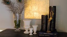 The Design Pages: Gold Leaf a Canvas