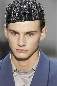 Yves Saint Laurent - Spring/Summer 2008 Menswear - Paris (Vogue ...