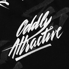 Oddly Attractive quote // typography // handwriting // This Pin was discovered by Alistair Casillas. Discover (and save!) your own Pins on Pinterest.