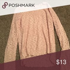 Pink sweater Super comfortable and in good condition Sweaters Crew & Scoop Necks