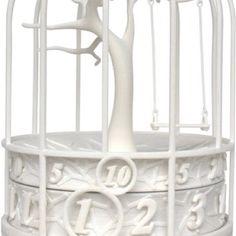 3D birdcage clock