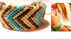 Chevron Woven Friendship Bracelet in by TheTreeOfHappiness on Etsy, $29.90