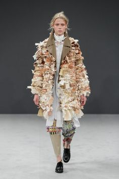 Viktor & Rolf couture garments made from recycled fabrics
