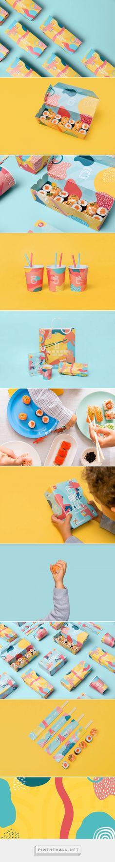 Home Sweet Sushi Kids packaging design by Savvy Agency - https://www.packagingoftheworld.com/2018/06/home-sweet-sushi-kids.html