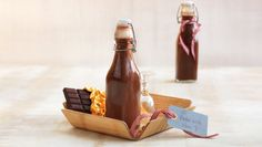 Mocca, Sorbet, Hot Sauce Bottles, Smoothie, Homemade, Wine, Drinks, Food, Christmas Presents