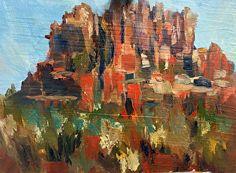 Marilyn Froggatt - Work Detail: Bell Rock Sedona
