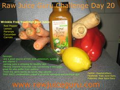 Raw Juice Guru Challenge Day 20:  This one is super yummy and amazing for your skin. Beautiful and youthful skin starts with what you eat, not in a cream jar.  Juice cleanse