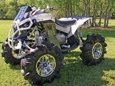 custom utvs & atvs | Ben Darbones Can-Am Renegade 800 mud racer is almost too sharp to ride ...