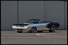 1970 Plymouth #Cuda Convertible 572 CI, Pro Touring Build  #Mecum #Monterey