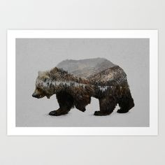 Buy The Kodiak Brown Bear by Davies Babies as a high quality Art Print. Worldwide shipping available at Society6.com. Just one of millions of products…