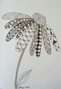 Doodle Art Drawing, Zentangle Drawings, Mandala Drawing, Zentangle Patterns, Art Drawings Sketches, Drawing Ideas, Disney Drawings, Pencil Drawings, Zentangles