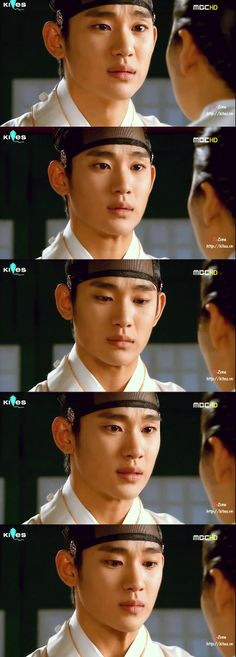 the moon that embraces the sun. His facial expressions