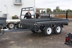 Trailers Pre-built & Custom | MD Steel Fabrication I Industrial Buildings, Sheds, Garages
