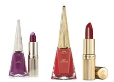 Joan Collins Perfect Partners Lipstick And Nail Lacquer Duo....    The lacquer promises quick drying and a smooth, long-lasting finish. £25.00 / € 29.00
