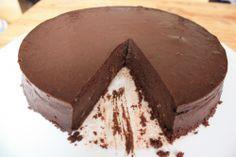 Chocolade cheesecake.