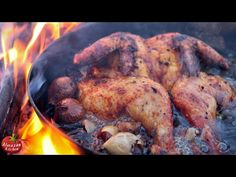 Epic Fried Whole Chicken! - feat. Mr.Ramsay the Owl - YouTube