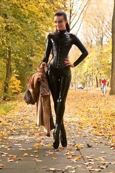 Ballet Boots, Ballet Heels, Latex Catsuit, Girls Image, Goth, Sexy, Leather, Outfits, Collection