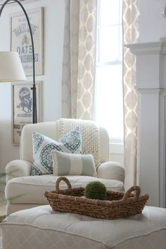 cozy corner, light & airy palette