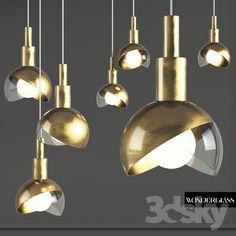 Wonderglass Calimero gold