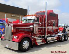 Untitled by Laura Hubka on Show Trucks, Big Rig Trucks, Custom Big Rigs, Custom Trucks, Freight Truck, Truck Paint, Kenworth Trucks, Heavy Truck, Vintage Trucks
