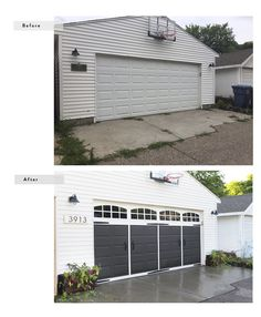 Easy Garage Makeover: Before & After by Ace Blogger @scoops
