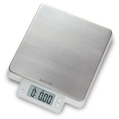 Whether you're an avid gym nut or a culinary enthusiast, the Salter High Precision Digital Scale provides precise and accurate measurements for your food. This innovative scale features an 11 pound weight capacity and is easy to clean. Electronic Kitchen Scales, Food Scale, Digital Scale, Kitchen Tools And Gadgets, White Bedding, Fine China, Bath Towels, Cleaning Wipes, Stainless Steel