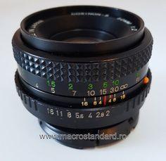 Obiectiv foto retro Cosinon-S 50mm F2.0