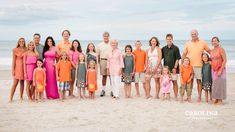 What to wear large family photography sessions what to wear beach photography sessions. Large Family Pictures, Family Pictures What To Wear, Extended Family Photos, Family Beach Pictures, Beach Photos, Family Pics, Family Portraits What To Wear, Big Family, Beach Picture Outfits